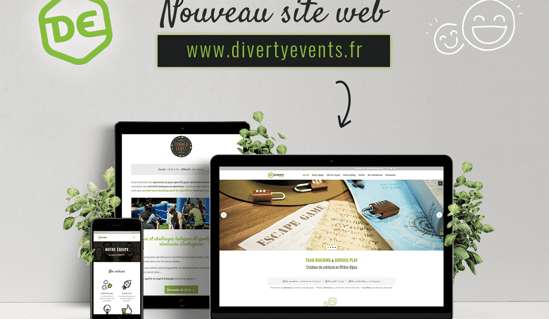 DIVERTY events – LYON (69) – GRENOBLE (38) – ANNECY (74)